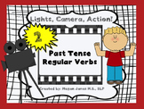 Lights, Camera, Action! 2: Past Tense Regular Verbs Lesson and Activity
