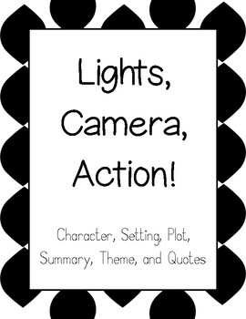 Lights, Camera, Action! A Language Arts Project