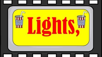 Lights, Camera, Action, Read! Poster