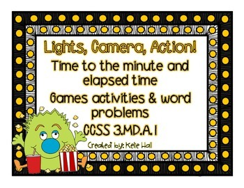 Lights, Camera, Action! Time to the minute