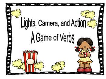 Lights, Camera, Action Verbs