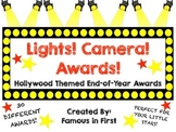 Lights! Camera! Awards! A Hollywood Themed End of Year Awards Pack