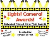 Lights! Camera! Awards! A Hollywood Themed End of Year Awa