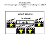 Lights Camera Excellence Bulletin Board And Behavior Chart