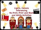 Lights, Camera, Inference! No Print & Print Movie Scenes - Language Activities