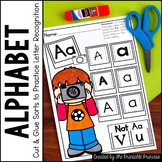 Alphabet Letter Discrimination Practice Pages