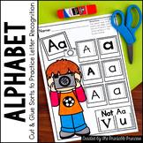 Alphabet Letter Discrimination Practice Pages