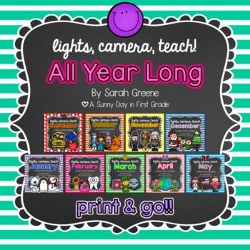 Lights, Camera, Teach! All Year Long