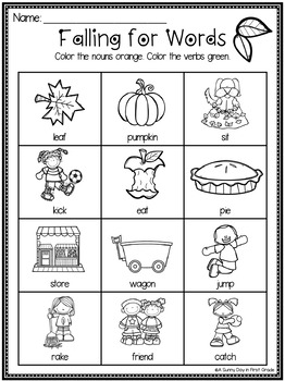 Lights, Camera, Teach! October {20 ready-to-print L.A. & Math activities}