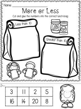 Lights, Camera, Teach! September {20 ready-to-print L.A. & Math activities}