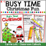 Christmas Worksheets A No-Prep Christmas Activity Packet