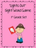 """Lights Out"" Sight Word Game (1st Grade)"