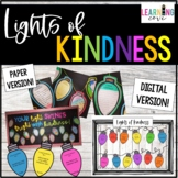 Lights of Kindness - Holiday Craft and Writing Activity!