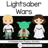 Lightsaber Wars: A Star Wars Multiplication Fluency Activity