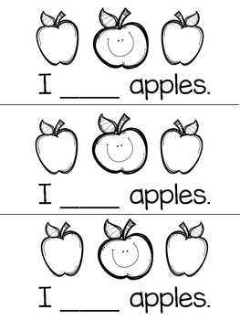 Like Sight Word Practice Book