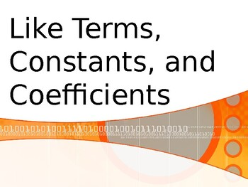 Like Terms Powerpoint
