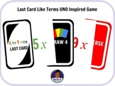 Like Terms UNO Inspired Card Game