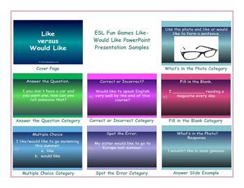 Like-Would Like PowerPoint Presentation