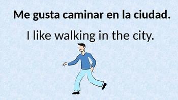 Like and dislike in Spanish