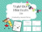 Like sight word mini book