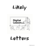 Likely Letters Statistics and Probability Project