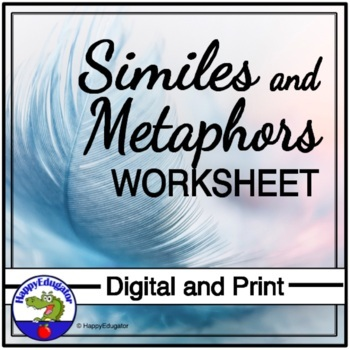 Similes and Metaphors Worksheet