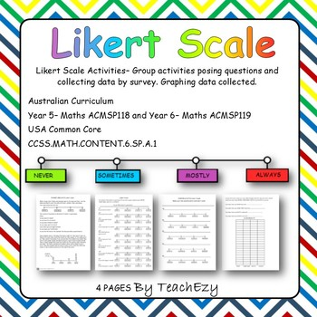 Likert Scale Activity Chance and Data