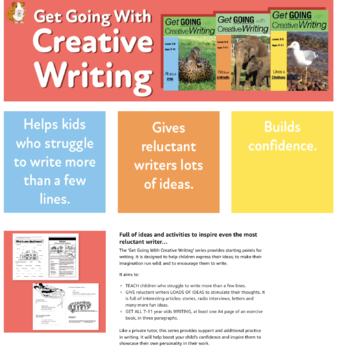 Likes And Dislikes: Get Going With Creative Writing (US Eng Edition) Grades 2-5