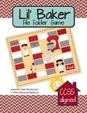 Lil' Baker Measurement File Folder Game