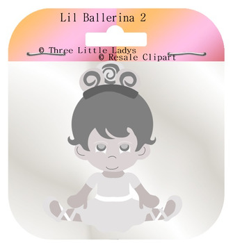 Lil Ballerina Template 2