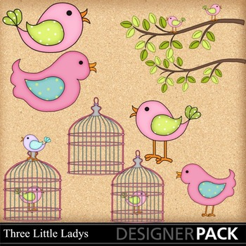 Lil Birdy 5 clipart