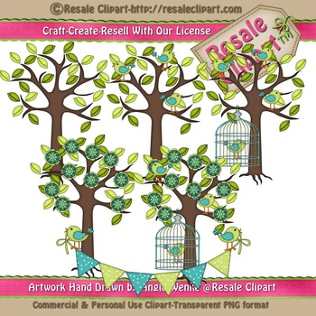 Lil Birdy 3 ClipArt - Commercial Use