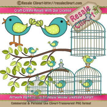 Lil Birdy 2 ClipArt - Commercial Use