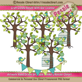 Lil Birdy 4 ClipArt - Commercial Use