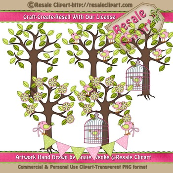 Lil Birdy 7 ClipArt - Commercial Use