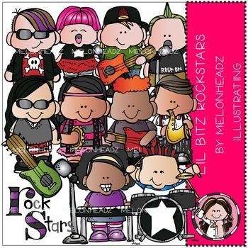 Lil Bitz Rock Stars clip art - by Melonheadz