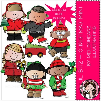 Lil Bitz clip art - Christmas - Mini by Melonheadz
