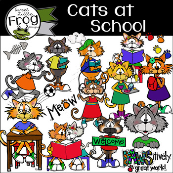 Cats at School Pack (c) Shaunna Page 2015