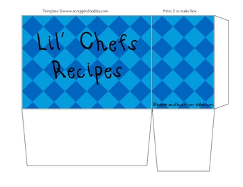 Lil' Chefs Recipe Boxes