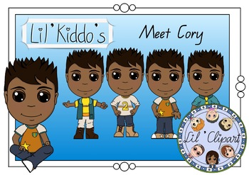 Lil' Clipart - Meet Cory