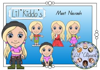 Lil' Clipart - Meet Nevaeh