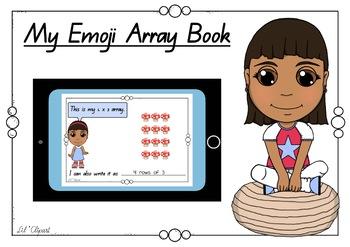 Emoji Multiplication Array Book