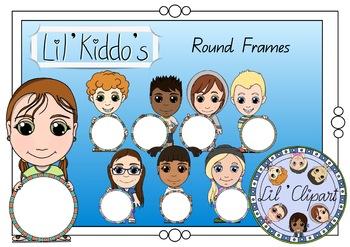 Round Lil' Kiddo's Frames