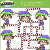 Lil Elf Candy Cane Frames
