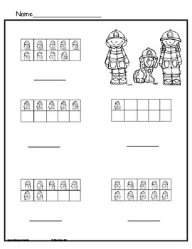 Lil' Fire Fighter Theme Centers for Kindergarten