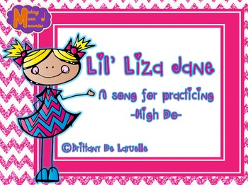 Lil' Liza Jane - Song for Preparing, Presenting, & Practicing High Do - PDF