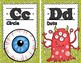 Lil Monster Alphabet Posters