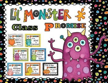 Lil Monster Classroom Promise