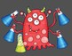 Lil Monster Double Digit Addition NO Regrouping Math CRAFT