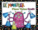 Lil Monster Place Value Craft